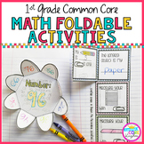 1st Grade Math Common Core Foldable Activities