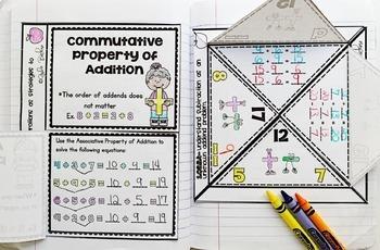 1st Grade Math Common Core Foldable Activities