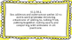 1st Grade Math Standards Posters on Yellow Sunburst Frame