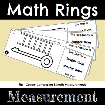 First Grade Math Comparing Measurements