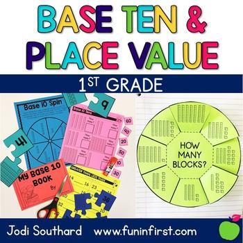 First Grade Math Curriculum - Base Ten and Place Value: Unit 2
