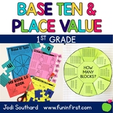 First Grade Math Curriculum - Base Ten and Place Value: Unit 2