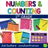 First Grade Math Curriculum - Numbers and Counting: Unit 1