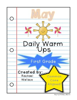 First Grade Math Daily Warm Ups for May