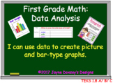 First Grade Math Data Analysis and Graphing