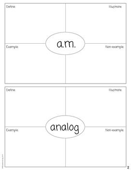 First Grade Math Dictionary