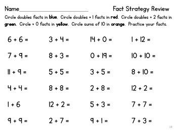 First Grade Math {EDM Sections 5&6}