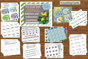 First Grade Math Equations