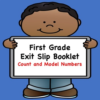 Math Exit Slips  (Count and Model Numbers)