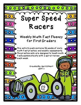 First Grade Math Fact Fluency