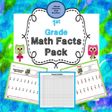 First Grade Math Facts Pack