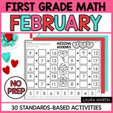 First Grade Math February