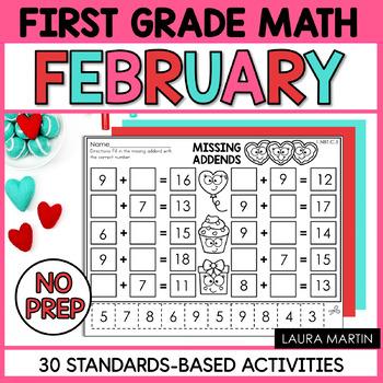 First Grade Math - February