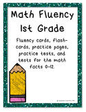 First Grade Math Fluency!