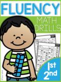 First Grade Math Fluency Drills |GOOGLE™ READY GOOGLE SLIDES™| Distance Learning