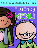 First Grade Math Fluency Menu: Composing/Decomposing Numbers 5-10