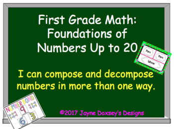 First Grade Math: Foundations of Numbers Up to 20