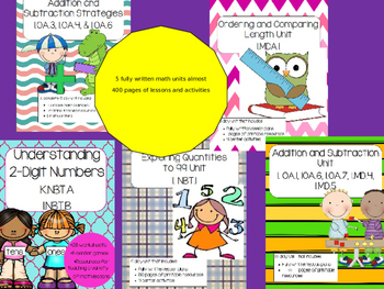 First Grade Math Full Lesson Plans