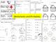 First Grade Math Bundle (Lesson Plans & Centers)