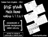 Making 6, 7, 8, & 9 - Math Game