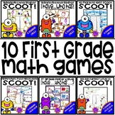 Place Value   10 More 10 Less   Balancing Equations   First Grade Math Scoot