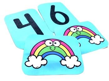 First Grade Math Games - Beginning of the Year
