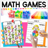 First Grade Math Games - Beginning of the Year