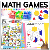 First Grade Math Games - End of Year