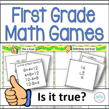 First Grade Math Games