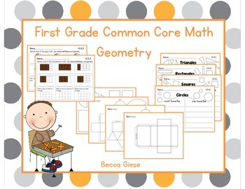 First Grade Math {Geometry}