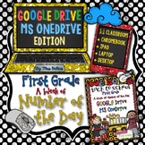 First Grade Math Google Drive MS One Drive Number of the Day