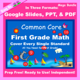 First Grade Math  Google Slides and PDF for Distance Learning