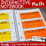 First Grade Math Interactive Notebook: Addition and Subtra