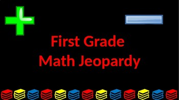 First Grade Math Jeopardy