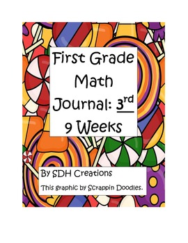 First Grade Math Journal: 3rd 9 Weeks (updated)