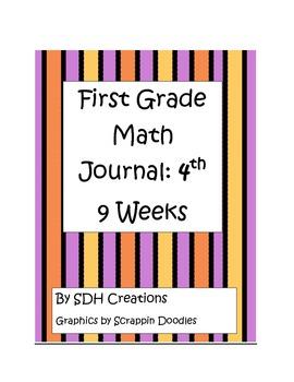 First Grade Math Journal: 4th 9 weeks (updated)