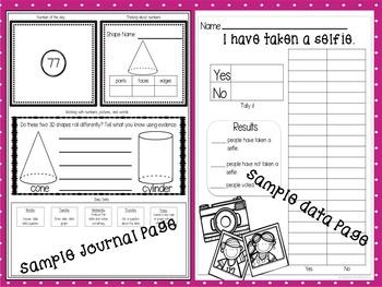Math Journals for Firsties Bundled Volumes 1-4