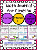 Math Journals for Firsties Bundled Volumes 1-4