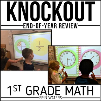 First Grade Math Knockout {End of the Year REVIEW}