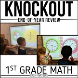 1st Grade Math Review Game [End of the Year KNOCKOUT}