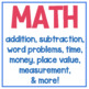 First Grade YEAR LONG BUNDLE 1000+ Pages of Math & Reading Resources!