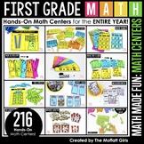 First Grade Math Made Fun (Centers)