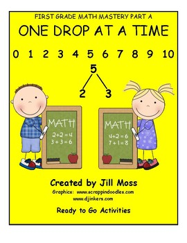 First Grade Math Mastery--One Drop at A Time (Part A)