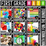 First Grade Math: Math Made Fun! A GROWING Bundle!