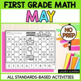 May Math Worksheets | First Grade