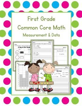 First Grade Math {Measurement & Data}