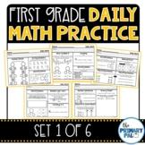 First Grade Daily Math Practice: Set 1