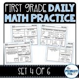 First Grade Daily Math Practice: Set 4