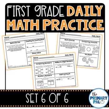 First Grade Daily Math Practice: Set 6