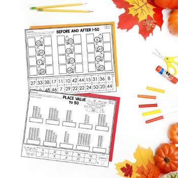 First Grade Math-November